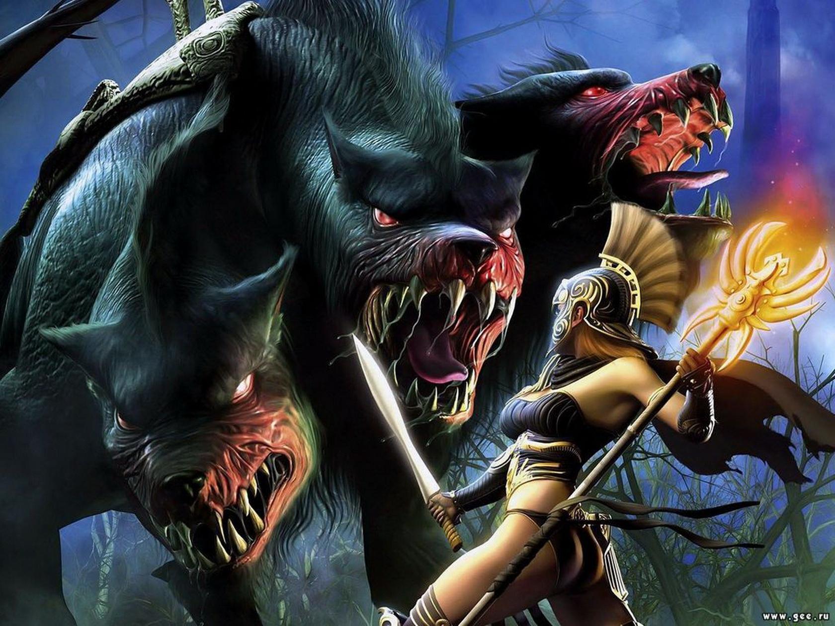 Скачать обои Titan Quest Immortal Throne, game, pc games, игра, видео