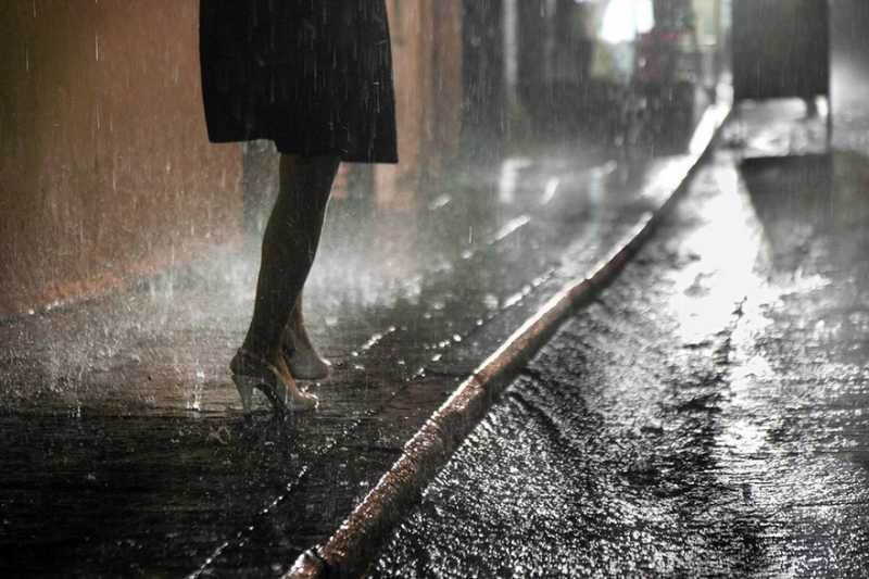 Дождь в фотографиях Вилли Рониса.