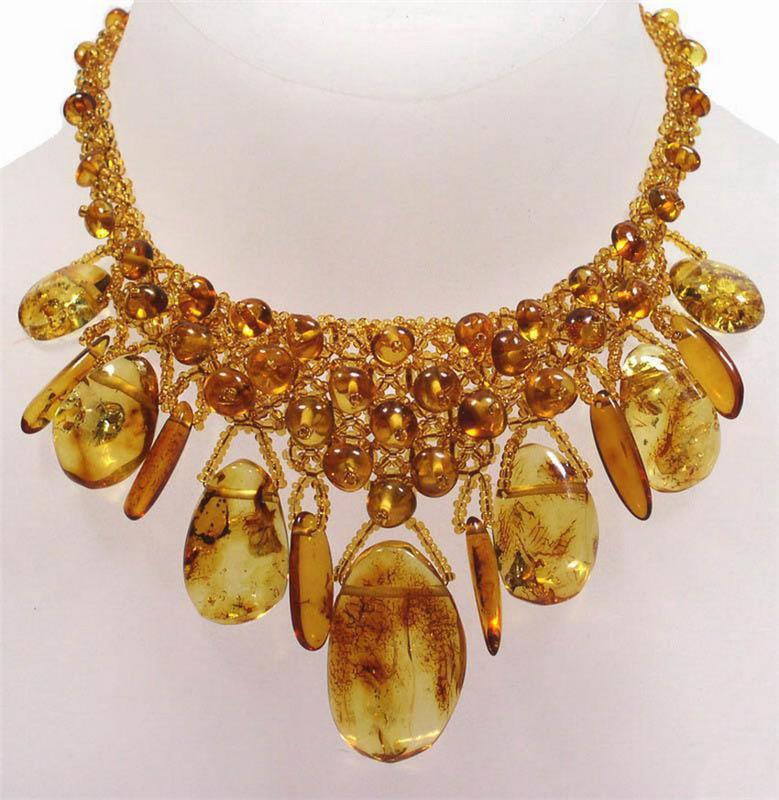 Янтарное ожерелье